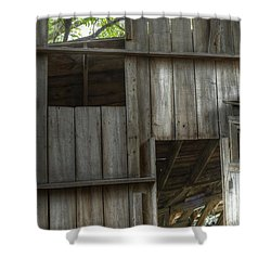 Window To The Present Shower Curtain