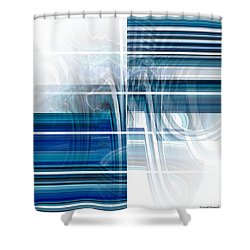 Window To Whirlpool Shower Curtain by Thibault Toussaint