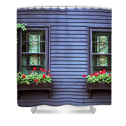 Shower Curtain featuring the photograph Window View by Kenneth Campbell