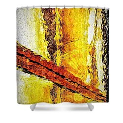 Shower Curtain featuring the photograph Window by William Wyckoff