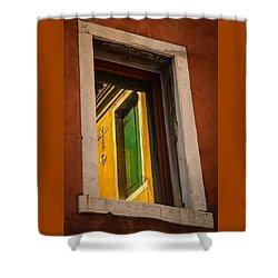 Window Window Shower Curtain by Kathleen Scanlan
