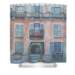 Windows And Shutters Shower Curtain