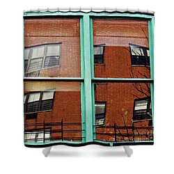 Windows In The Heights Shower Curtain by Sarah Loft