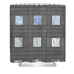 Shower Curtain featuring the photograph Windows Of 2 World Financial Center   by Sarah Loft