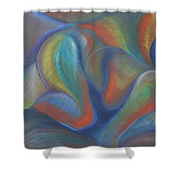 Winds Of Change Prevail Shower Curtain