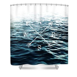 Winds Of The Sea Shower Curtain