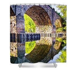 Windsor Rail Bridge Shower Curtain