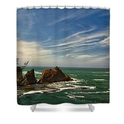 Windswept Day Shower Curtain