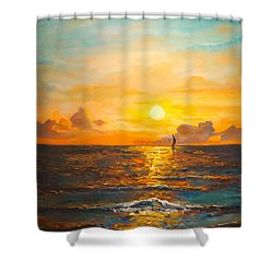 Windward Shower Curtain