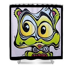 Windy Cindy Shower Curtain