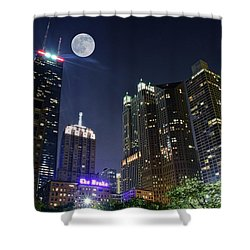 Windy City Shower Curtain by Frozen in Time Fine Art Photography