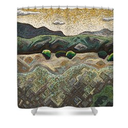 Windy Day Shower Curtain by Dale Beckman