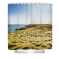 Windy Meadows Shower Curtain