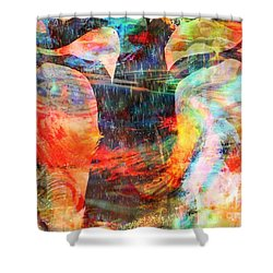 Windy Moments Shower Curtain