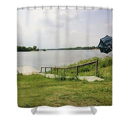 Windy Walk Shower Curtain