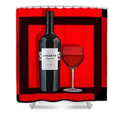 Wine Anyone-1 Shower Curtain