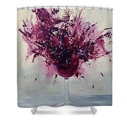Wine Bouquet Shower Curtain