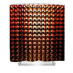 Wine Cellar Shower Curtain