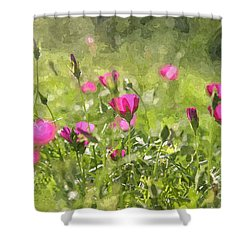 Wine Cups Shower Curtain