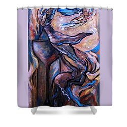 Wine Fairies Shower Curtain by Dawn Fisher