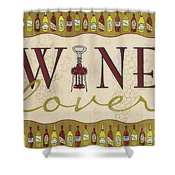 Wine Lover Shower Curtain