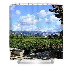 Wine Please Shower Curtain