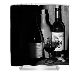 Wine Sampling Shower Curtain