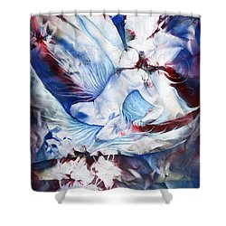 Wing Rider Shower Curtain