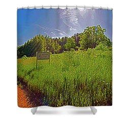 Wingate, Prairie, Pines Trail Shower Curtain