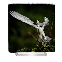 Winged Shower Curtain