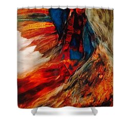 Winged Ones Shower Curtain