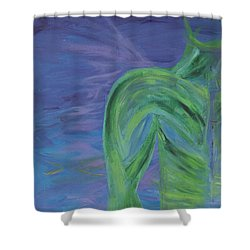 Winged Thing Shower Curtain