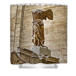 Winged Victory Shower Curtain by Jon Berghoff