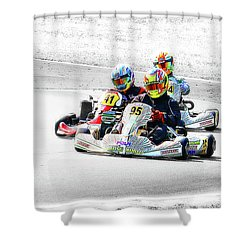 Wingham Go Karts 04 Shower Curtain