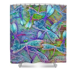 Wings Large In Square Format Shower Curtain