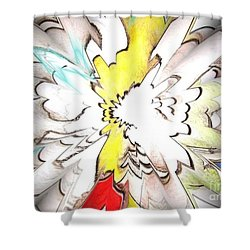 Wings Of Dreams Shower Curtain
