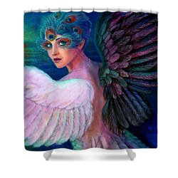 Wings Of Duality Shower Curtain