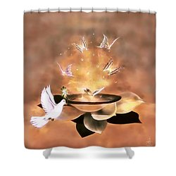 Wings Of Magic Shower Curtain