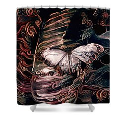 Wings Of The Night Shower Curtain by Susan Maxwell Schmidt
