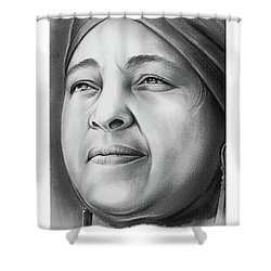 Winnie Mandela Shower Curtain