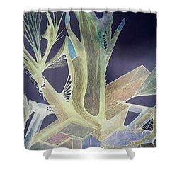 Winp 3 Shower Curtain