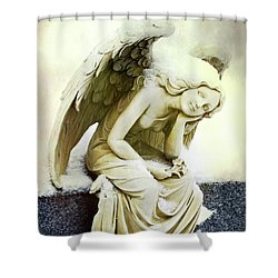 Winter Angel Shower Curtain