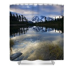 Winter Approaches Shower Curtain by Mike  Dawson