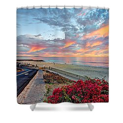 Winter At Tamarack Shower Curtain by Ann Patterson
