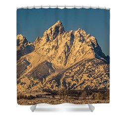Winter At The Grand Shower Curtain by Yeates Photography