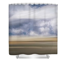 Winter Ballet Shower Curtain