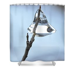 Shower Curtain featuring the photograph Christmas Bells by Glenn Gordon