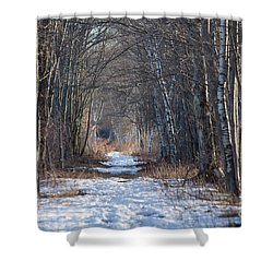 Winter Bliss Shower Curtain