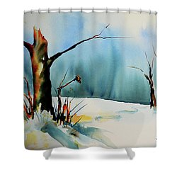 December River Shower Curtain