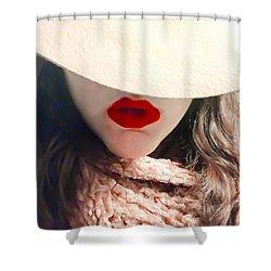 Winter Blush Shower Curtain